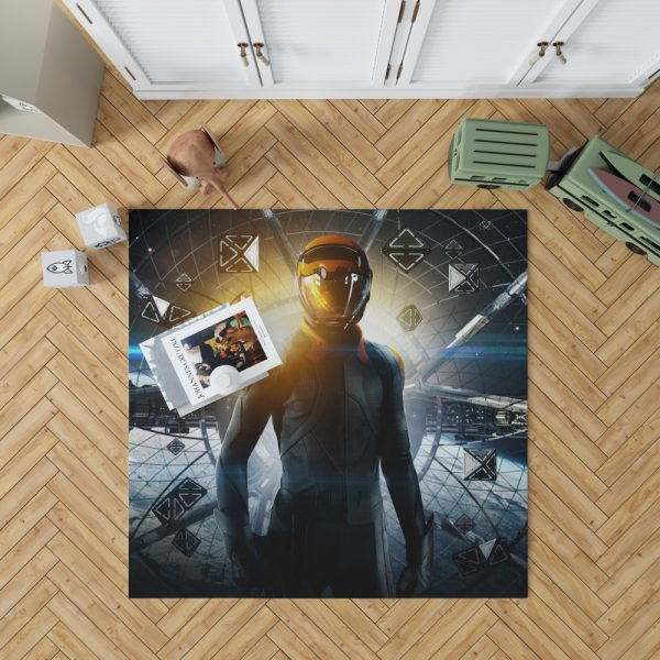 Enders Game Movie Bedroom Living Room Floor Carpet Rug 1