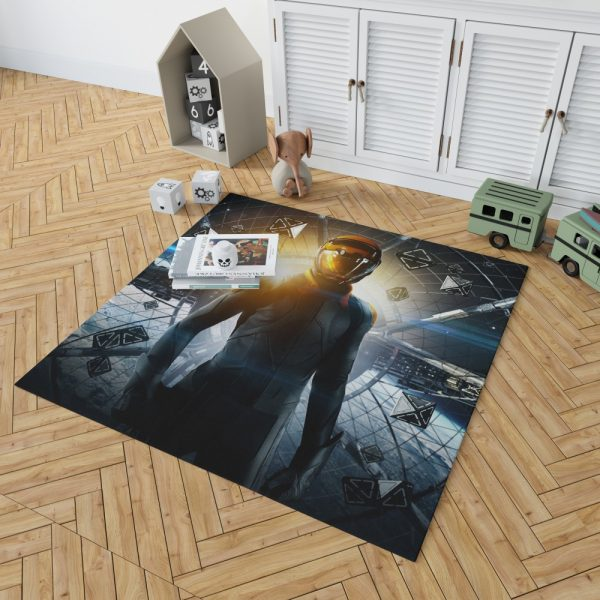 Enders Game Movie Bedroom Living Room Floor Carpet Rug 2