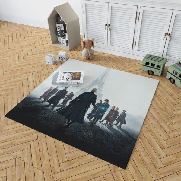 Fantastic Beasts The Crimes of Grindelwald Movie Bedroom Living Room Floor Carpet Rug 2