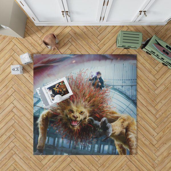Fantastic Beasts The Crimes of Grindelwald Movie Eddie Redmayne Bedroom Living Room Floor Carpet Rug 1