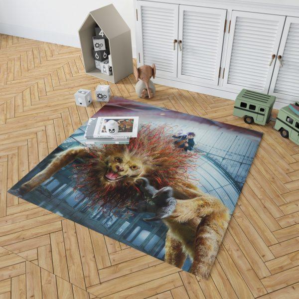 Fantastic Beasts The Crimes of Grindelwald Movie Eddie Redmayne Bedroom Living Room Floor Carpet Rug 2