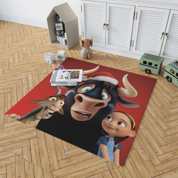 Ferdinand the Bull Movie Bedroom Living Room Floor Carpet Rug 2