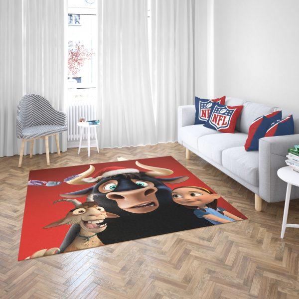 Ferdinand the Bull Movie Bedroom Living Room Floor Carpet Rug 3