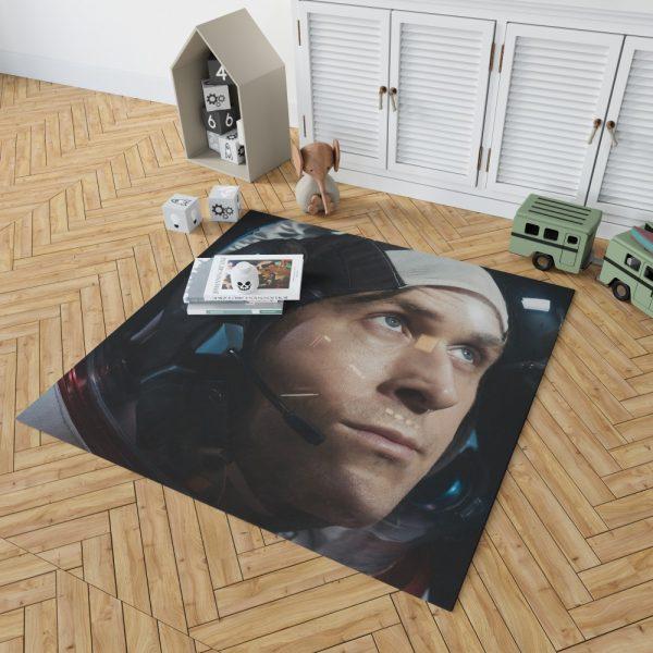 First Man Movie Ryan Gosling Bedroom Living Room Floor Carpet Rug 2
