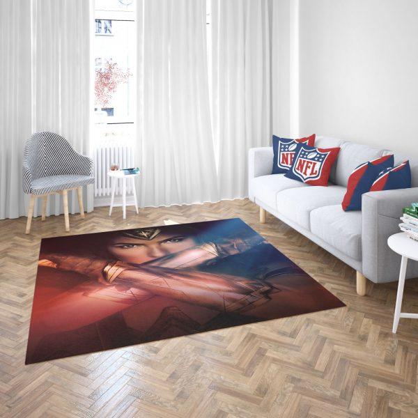 Gal Gadot Wonder Women Bedroom Living Room Floor Carpet Rug 3