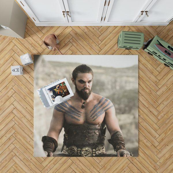 Game Of Thrones TV Series DrogoJason Momoa Bedroom Living Room Floor Carpet Rug 1