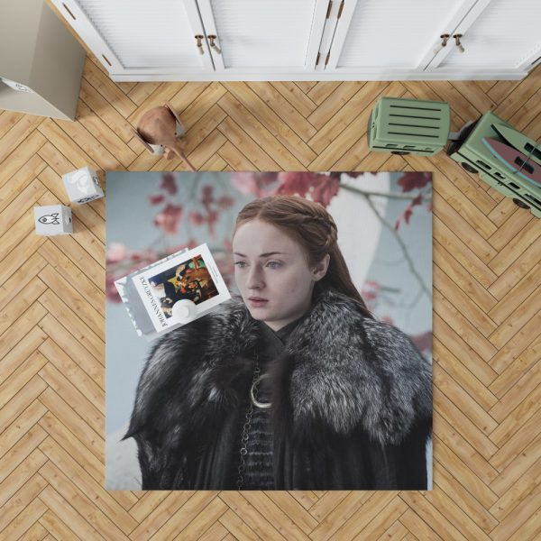 Game Of Thrones TV Series Sansa Stark Sophie Turner Bedroom Living Room Floor Carpet Rug 1