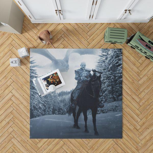 Game Of Thrones TV Show White Walker Bedroom Living Room Floor Carpet Rug 1