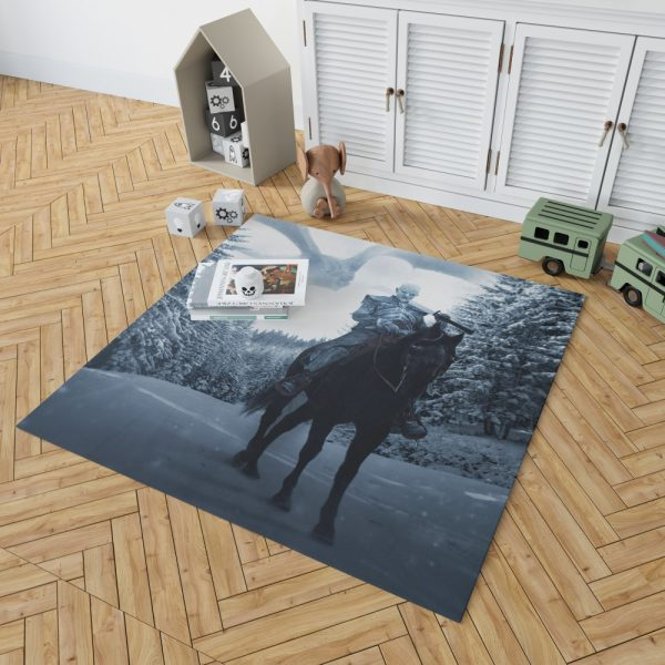 Game Of Thrones TV Show White Walker Bedroom Living Room Floor Carpet Rug 2