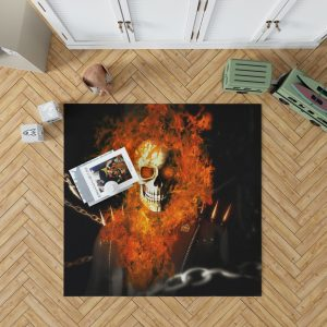 Ghost Rider Movie Ghost Rider Bedroom Living Room Floor Carpet Rug 1