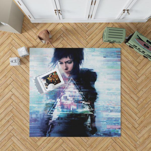 Ghost in the Shell 2017 Movie Scarlett Johansson Bedroom Living Room Floor Carpet Rug 1