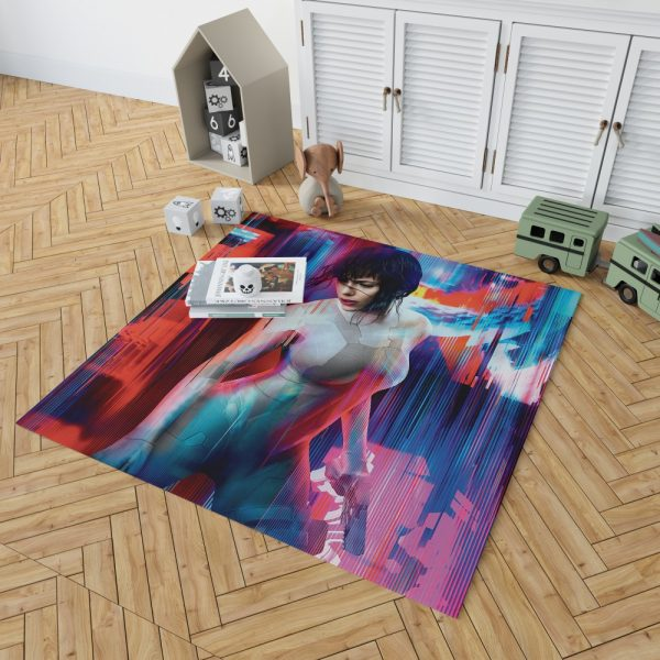 Ghost in the Shell Scarlett Johansson Bedroom Living Room Floor Carpet Rug 2