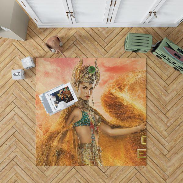 Gods Of Egypt Movie Crown Elodie Yung Goddess Hathor Bedroom Living Room Floor Carpet Rug 1
