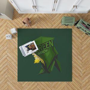 Green Arrow Movie Bedroom Living Room Floor Carpet Rug 1