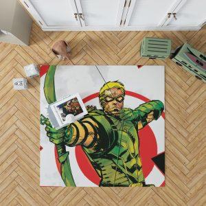 Green Arrow Movie DC Universe Bedroom Living Room Floor Carpet Rug 1