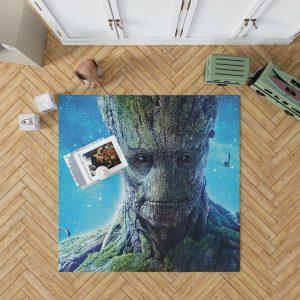 Guardians of the Galaxy Movie Groot Bedroom Living Room Floor Carpet Rug 1