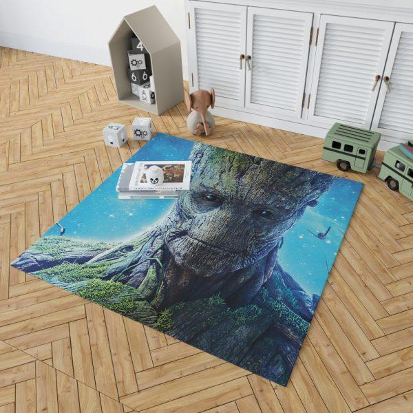 Guardians of the Galaxy Movie Groot Bedroom Living Room Floor Carpet Rug 2