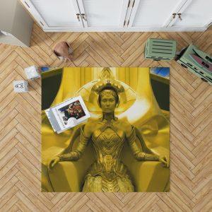 Guardians of the Galaxy Vol 2 Movie Ayesha Elizabeth Debicki Bedroom Living Room Floor Carpet Rug 1