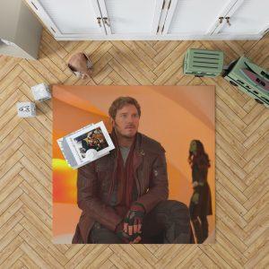 Guardians of the Galaxy Vol 2 Movie Chris Pratt Star Lord Bedroom Living Room Floor Carpet Rug 1