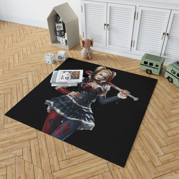 Harley Quinn Supervillain Suicide Squad Bedroom Living Room Floor Carpet Rug 2