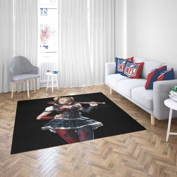 Harley Quinn Supervillain Suicide Squad Bedroom Living Room Floor Carpet Rug 3