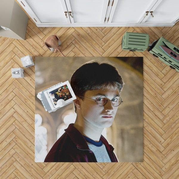 Harry Potter and the Half-Blood Prince Movie Daniel Radcliffe Bedroom Living Room Floor Carpet Rug 1