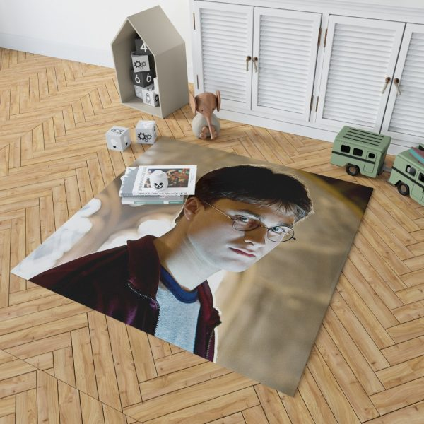Harry Potter and the Half-Blood Prince Movie Daniel Radcliffe Bedroom Living Room Floor Carpet Rug 2