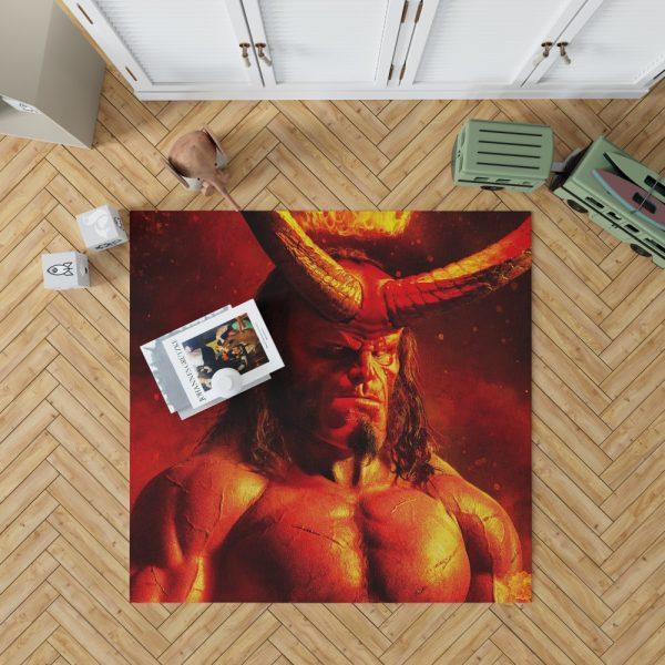 Hellboy 2019 Movie David Harbour Bedroom Living Room Floor Carpet Rug 1