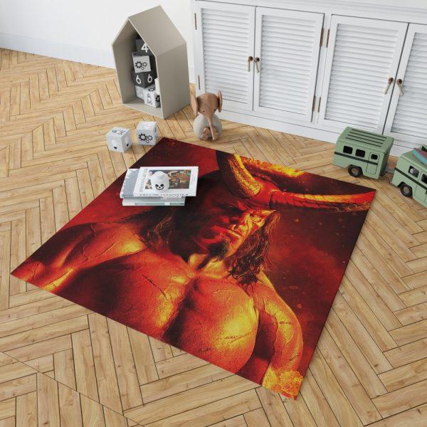 Hellboy 2019 Movie David Harbour Bedroom Living Room Floor Carpet Rug 2