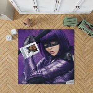 Hit-Girl in Kick-Ass Movie Chloe Grace Moretz Bedroom Living Room Floor Carpet Rug 1