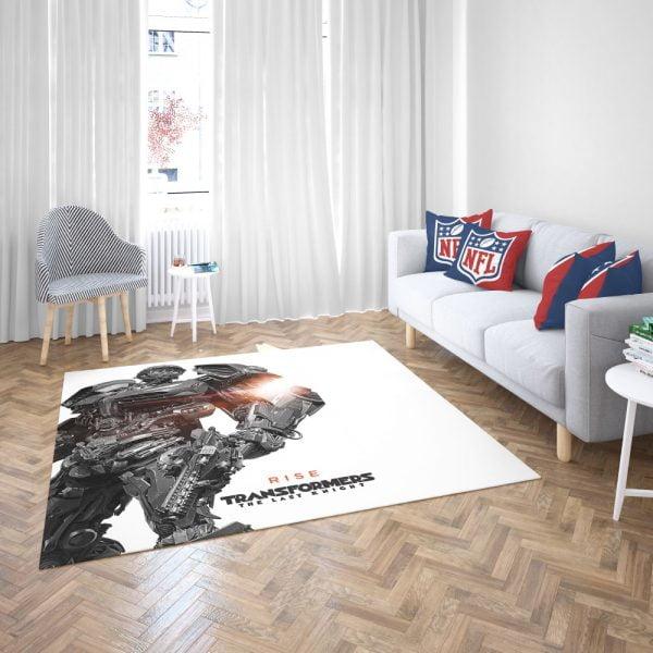 Hot Rod Transformers The Last Knight Bedroom Living Room Floor Carpet Rug 3