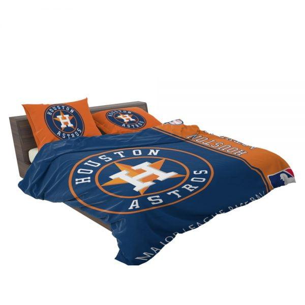 Houston Astros MLB Baseball American League Bedding Set 3