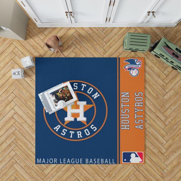 Houston Astros MLB Baseball American League Floor Carpet Rug Mat 1