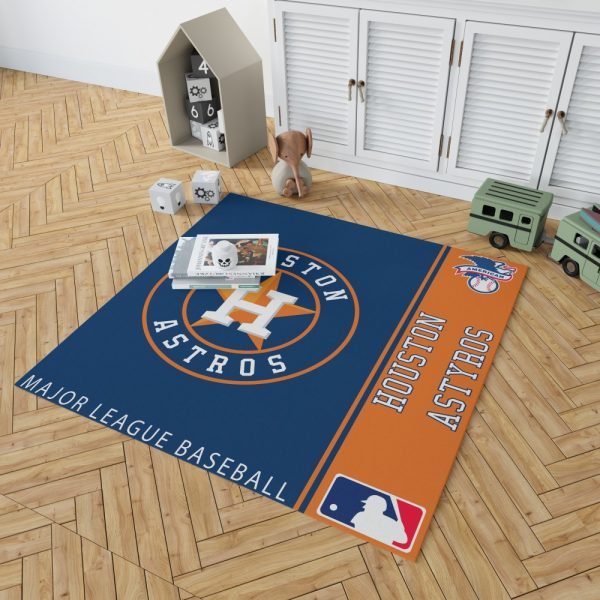 Houston Astros MLB Baseball American League Floor Carpet Rug Mat 2