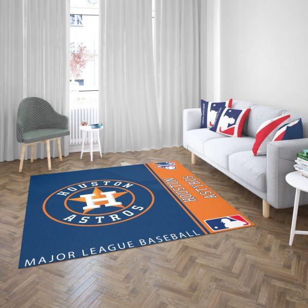Houston Astros MLB Baseball American League Floor Carpet Rug Mat 3