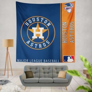Houston Astros MLB Baseball American League Wall Hanging Tapestry