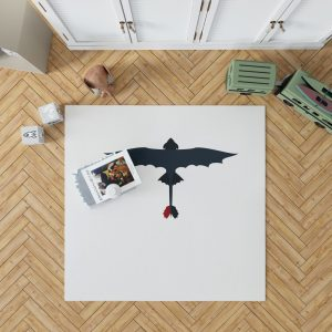 How To Train Your Dragon Movie Toothless Bedroom Living Room Floor Carpet Rug 1