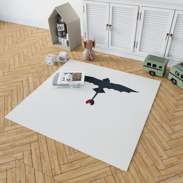How To Train Your Dragon Movie Toothless Bedroom Living Room Floor Carpet Rug 2