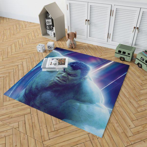 Hulk Avengers Infinity War Mark Ruffalo Bruce Banner Bedroom Living Room Floor Carpet Rug 2
