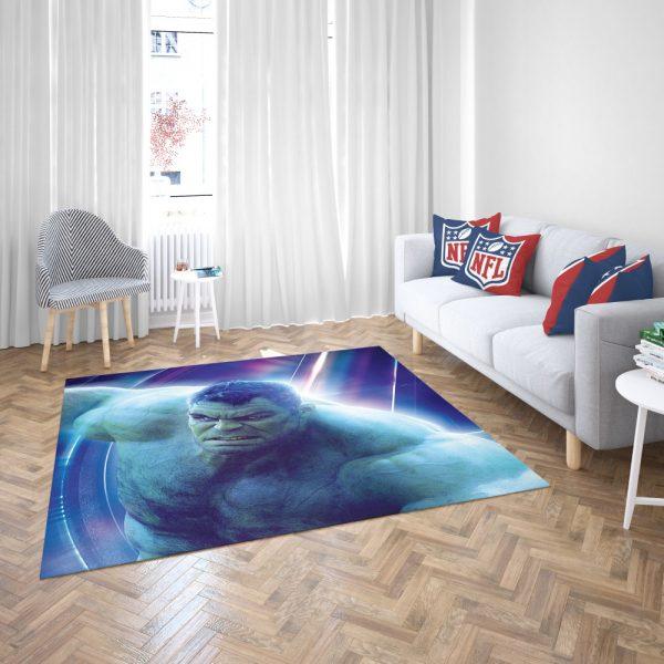 Hulk Avengers Infinity War Mark Ruffalo Bruce Banner Bedroom Living Room Floor Carpet Rug 3