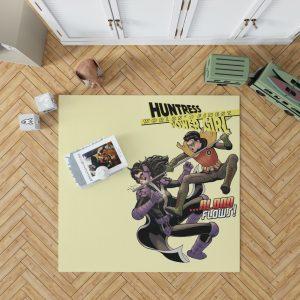Huntress Worlds Finest Robin DC Comics Bedroom Living Room Floor Carpet Rug 1