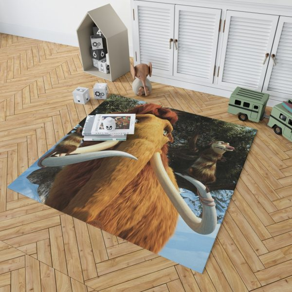 Ice Age Dawn of the Dinosaurs Movie Bedroom Living Room Floor Carpet Rug 2