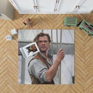 In the Heart of the Sea Movie Chris Hemsworth Bedroom Living Room Floor Carpet Rug 1