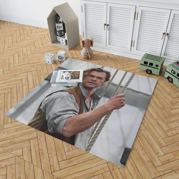 In the Heart of the Sea Movie Chris Hemsworth Bedroom Living Room Floor Carpet Rug 2