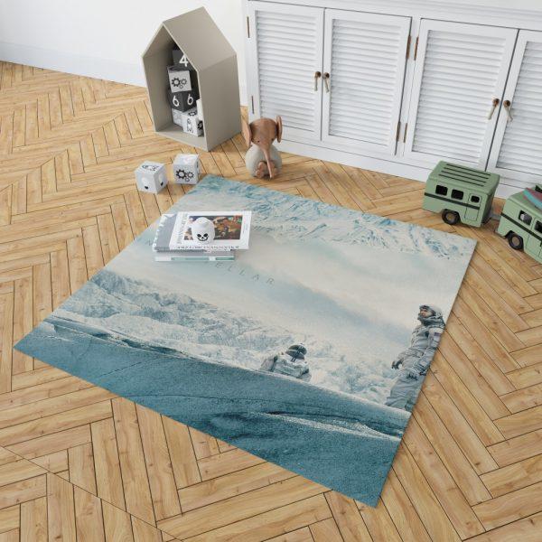 Interstellar Movie Cooper in Mann Planet Bedroom Living Room Floor Carpet Rug 2