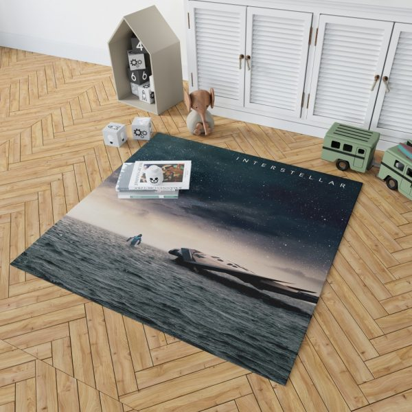 Interstellar Movie Sci-Fi Bedroom Living Room Floor Carpet Rug 2