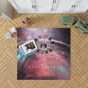 Interstellar Movie Space Bedroom Living Room Floor Carpet Rug 1