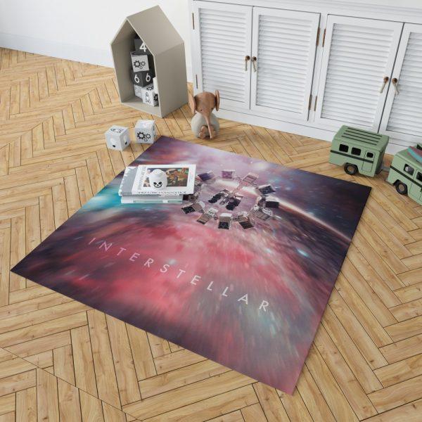 Interstellar Movie Space Bedroom Living Room Floor Carpet Rug 2