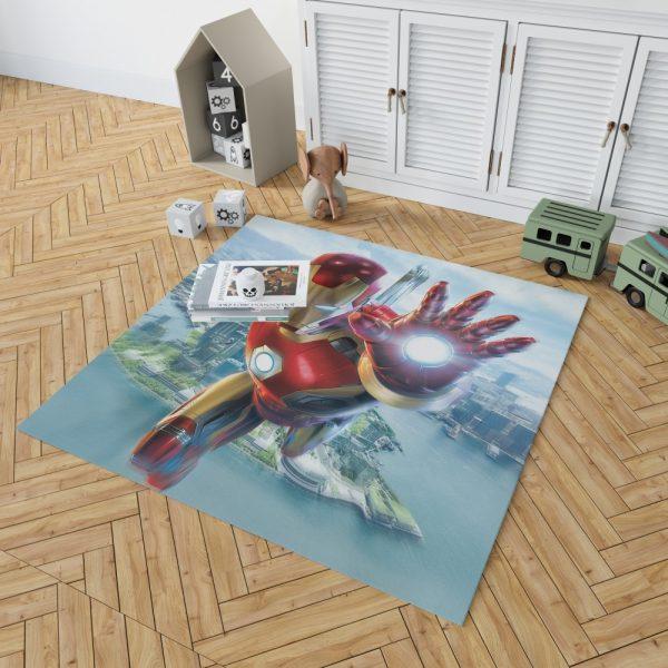 Iron Man Experience Hong Kong Disneyland Bedroom Living Room Floor Carpet Rug 2