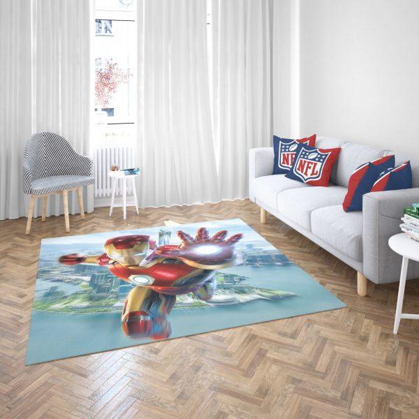 Iron Man Experience Hong Kong Disneyland Bedroom Living Room Floor Carpet Rug 3